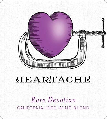 2011 Heartache Rare Devotion Red Blend