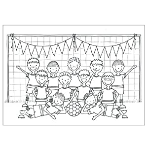 uk football coloring pages - photo#18