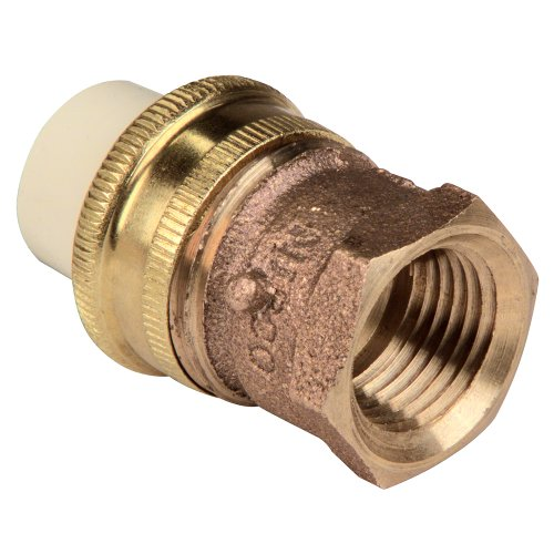 Nibco series cpvc and brass pipe fitting union