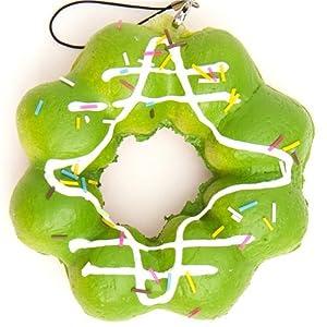 Green Squishy Toys : Amazon.com: soft big green flower donut squishy charm: Toys & Games