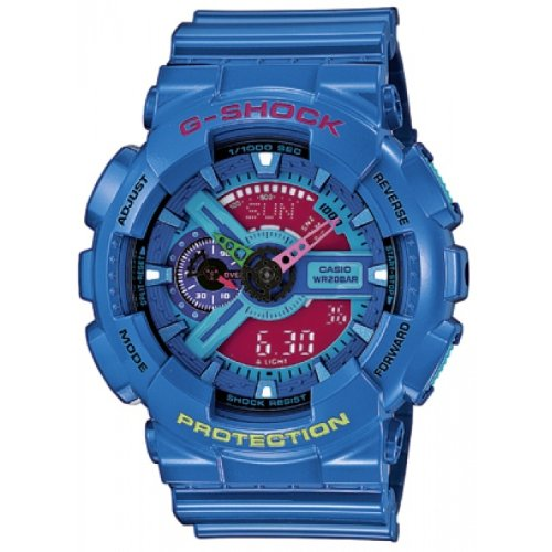 Casio G-Shock – Montre Bleu GA110HC-2AER