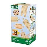 BRIO 33394 - Schienen Starter Pack B, bunt