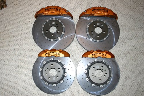 MHP OEM AMG Complete Carbon Ceramic Brake Kit