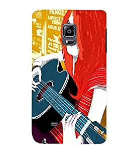 TOUCHNER (TN) Colorfull Music Back Case Cover for Samsung Galaxy Note Edge::Samsung Galaxy Note Edge N915
