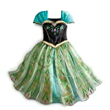 Disney Store Frozen Princess Anna Deluxe Coronation Costume