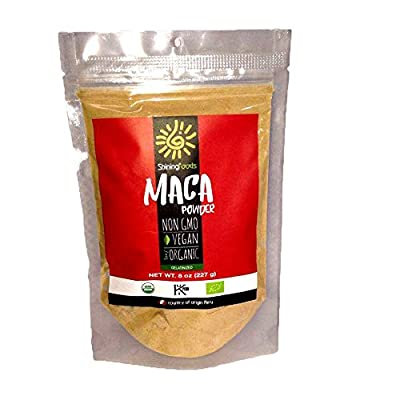 Maca Powder Organic Gelatinized 8 Oz from SHININGFOODS