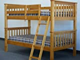 Bunk Bed Twin over Twin Mission style in Honey