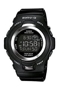 Casio Women's BGR300-1 Baby-G Solar Powered Black Digital Watch