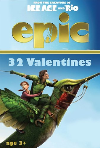 Paper Magic Showcase Epic Valentines Exchange Cards (32 Count)