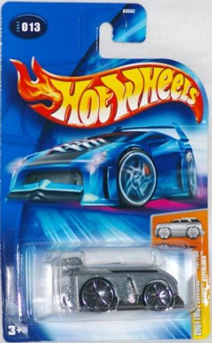 2004 Hot Wheels First Editions #13 Blings Hyperliner Zamac Variant Car 1:64 Scale Collectible Die Cast Car