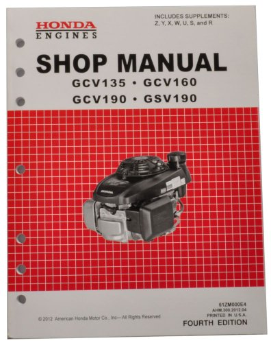 honda gcv135 gcv160 gcv190 gsv190 engine service repair shop manual rh sites google com Online Honda Repair Manual Parts Manual GVC190 Honda