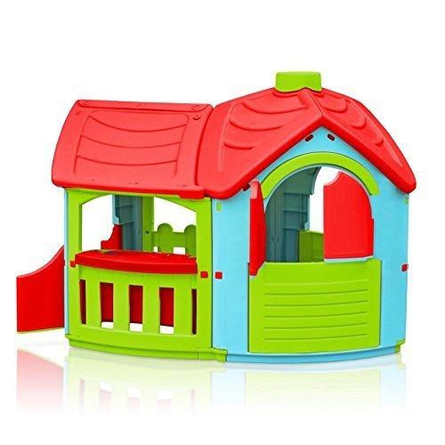 Marian – Plast 300 – 0662 – Kinder – Spielhaus Villa mit Anbau (farblich sortiert) online bestellen