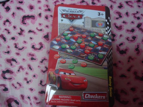 Disney-Pixar Cars Checkers in collector tin by Cardinal Industries