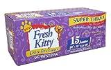 Fresh Kitty Litter Box Liners, 15 Count Jumbo Drawstring