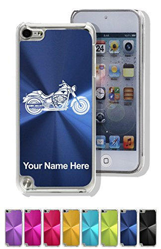 Personalized Case for iPod Touch 5th/6th Gen - Motorcycle - Laser Engrave Your Name for Free (Motorcycle Ipod Accessories compare prices)