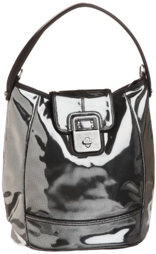 Diesel Women's Muse Get Rich Character Hobo Bag Silver X01497PS763T9002