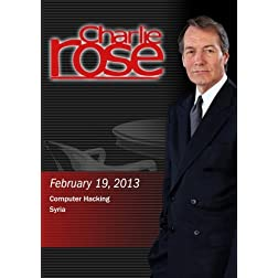 Charlie Rose - Computer Hacking; Syria (February 19, 2013)