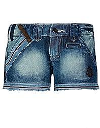Chlorophile Women's Shorts (Hpo_Cerulean Mid Wash_28)