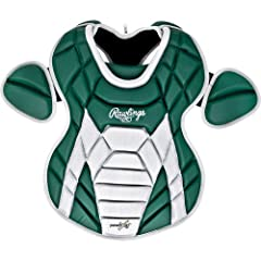 Rawlings Adult Catchers Chest Protector, Matte Dark Green by Rawlings