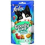 Felix Goody Bag Seaside Mix Cat Treat 60 g (Pack of 8)