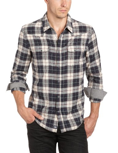Ltb Jeans Men's 4969 / Norbert Casual Shirt Multicoloured (Norbert Check 8762) 54