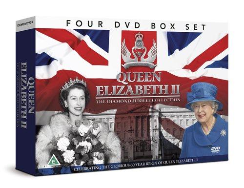 Queen Elizabeth II THE DIAMOND JUBILEE COLLECTION 4 DVD GIFT SET