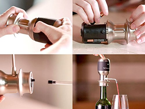 Vinaera - Worlds First Electronic Wine & Spirit Aerator / Dispenser