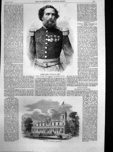 Nuovo Generale Rezet Presidente Perù 1863 di Leamington delle Sale Pompe