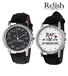 Relish Analog Watches Combo for Men - 607C