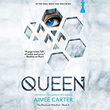 Queen: The Blackcoat Rebellion (       UNABRIDGED) by Aimee Carter Narrated by Lameece Issaq