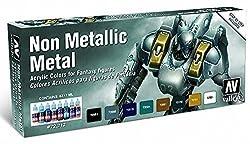 Vallejo Non Metallic Metal Colors, Model: Vj72212, Toys & Play