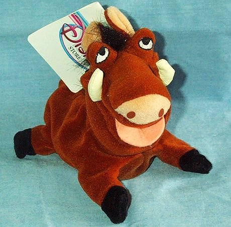 Disney Lion King Pumbaa Bean Bag Plush - 1