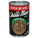 Chilli Man Chili With Beans, Vegetarian, 15-Ounce Cans (Pack of 12) ~ Chili Man