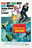 James Bond On Her Majesty's Secret Service - Skiing Maxi Poster