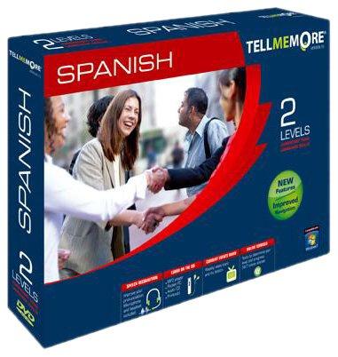 TELL ME MORE Spanish v10 2 levels (PC DVD)