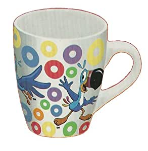 Toucan Sam Kellogs Fruit Loops Ceramic 12 Oz Mug
