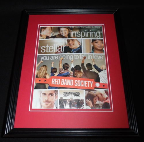 Red Band Society 2014 Fox Framed 11x14 ORIGINAL Advertisement Octavia Spencer (The Red Band Society compare prices)