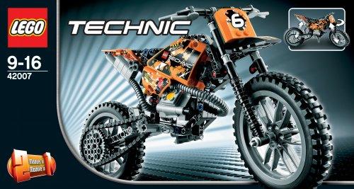 lego technic 42007 motocross bike neu review kaufen 2018. Black Bedroom Furniture Sets. Home Design Ideas