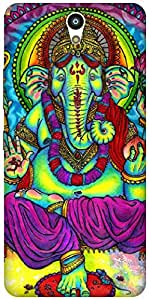 The Racoon Lean Neon Ganesh hard plastic printed back case / cover for Lenovo Vibe S1