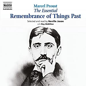 The Essential Remembrance of Things Past Audiobook