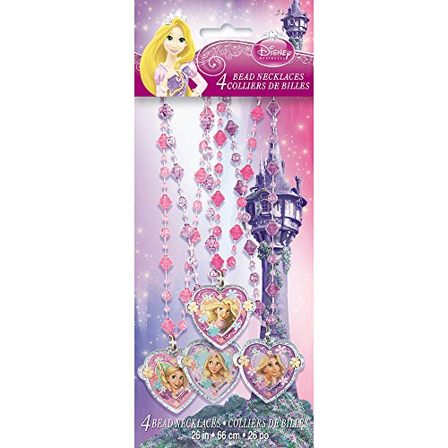 Disney Tangled Bead Necklaces, 4ct