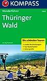 Thüringer Wald: Wanderführer mit Tourenkarten und Höhenprofilen