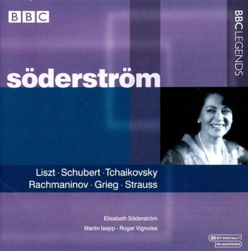 Söderström sings Liszt, Schubert, Tchaikovsky, etc.