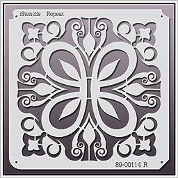 iStencils Repeat Wall Stencil 89-00114 R 11 X 11\