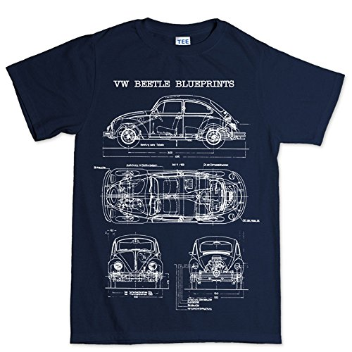 beetle-bug-camper-classic-blueprint-t-shirt-bleu-xxxxx-large