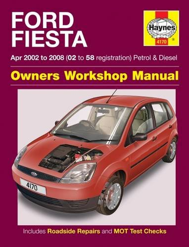 Ford Fiesta Service and Repair Manual (Haynes Service and Repair Manuals) (Ford Fiesta Manual compare prices)