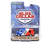 """GREENLIGHT 1:64SCALE """"BLUE COLLAR COLLECTION"""" """"1976 DODGE B100 VAN""""(DIRECT CONNECTION)SERIES1 グリーンライト 1:64スケール 「ブルーカラー コレクション」 「1976 ダッジ B100 バン」(ダイレクトコネクション)シリーズ1 [並行輸入品]"""
