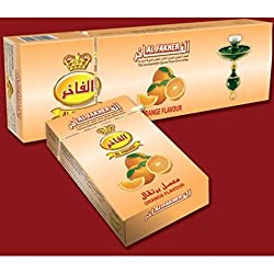 AL FAKHER Orange Flavour Imported Arabian Flavour for Hookah 500 Gm Pack Of 10