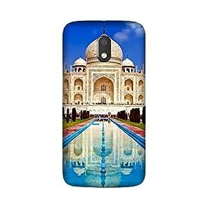 Moto E3 (3rd Gen) Back Cover - Printrose designer mobile back cover cases and cover for Moto E3 (3rd Gen.) Taj