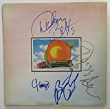 The Allman Brothers Band Signed Album - Eat A Peach (signed by all four). BAS COA.